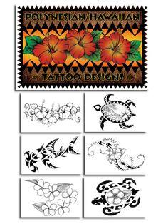 Polynesian Tattoo Flash