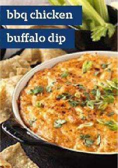 BBQ Chicken Buffalo Dip