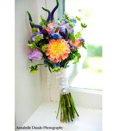 summer garden bouquet    {The Flower Cart}