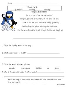 January Fluency Passages