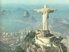 Corcovado, Rio De Janeiro, Brazil   (It is one of the most beautiful and amazing place I have ever seen )