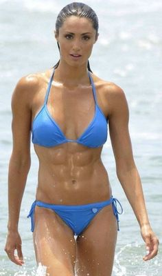 wow! fit, sexy, toned, bikini, swimsuit from Kythoni's Fit board: http://pinterest.com/kythoni/fit/  p.5.2 m.27.4 #KyFun