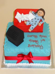 The perfect cake to enjoy in a onsie!