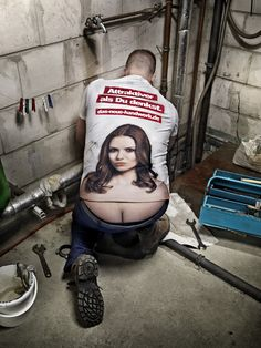 The perfect plumber t-shirt