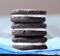 Healthy cookies that taste exactly like Oreos!