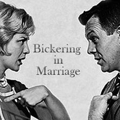 How To Avoid Bickering In Marriage