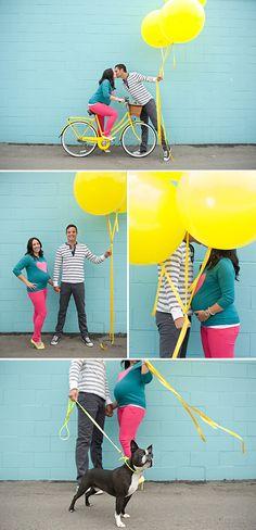 Fun, Colorful Maternity Photos