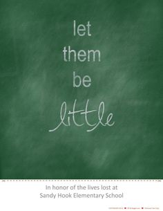 Let Them Be Little #