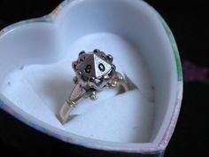 Geeky wedding ring #1: D Die