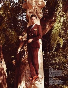 Jon Kortajarena by Sergi Pons for Fashionisto Spring 2012