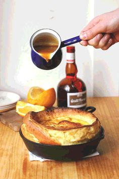 ... Recipe: Roasted Cherry Dutch Baby with Brown Sugar-Cinnamon Sauce