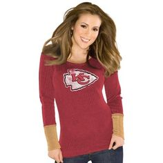 Touch by Alyssa Milano Kansas City Chiefs Ladies Red Kari Thermal