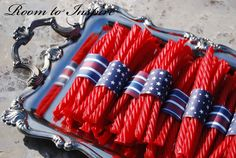 Cute idea for 4th of July party