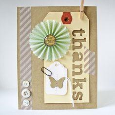 Card-Blanc by Kathy Martin: Thanks