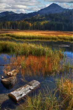 Silver Lake and Mount Milicent, Big Cottonwood Canyon, Utah; photo by Utah Images