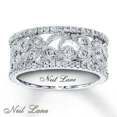 Kay - Diamond Ring 3/4 ct tw Round-cut 14K White Gold