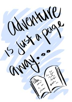 Adventure is a page away
