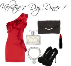 Valentine's Day Dinner Outfit