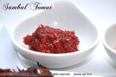 Sambal Tomat Recipe (Tomato Sambal)