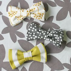 Bow-tie how-to on The Ledger! #diy