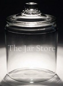 64 oz/1/2 gal/ 2 qt Anchor Heritage Hill Jar- the cheapest jars I've ever seen!!!