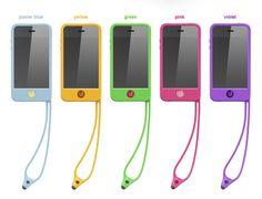 Coque de protection Silicone Tin Tip Tie pour iPhone 4/4S (Jaune) : MaxiMobileShop la boutique d'accessoires pour Téléphones Mobiles, Smartphones et Tablettes Tactiles