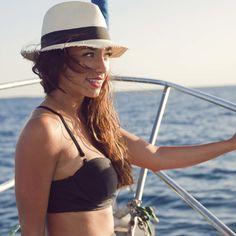 Pinup Bikini Top-Black