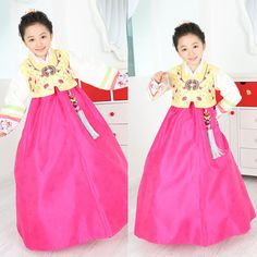 Korean new arrived hanbok. For holiday, birthday, party. Hanbok is the best dress for your girl! Click this picture, go to ebay page :)