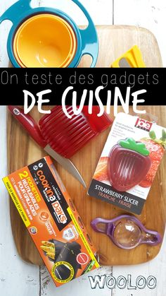 On teste des gadgets