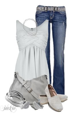 """""""Love My Toms 2"""" by jackie22 on Polyvore"""