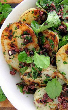Crispy Potato & Olive Salad