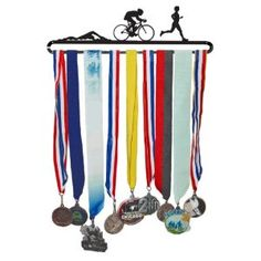 Great Medal Display for Triathlons