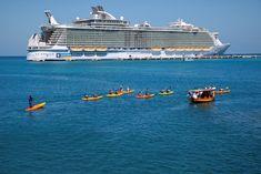 #Kayaking in #Labadee. #cruising #travel #Royal #Caribbean