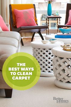 Learn the best ways to clean your carpet!