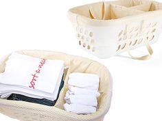 Portable Laundry Sorter + Organizer