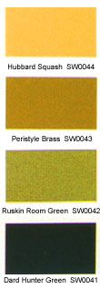 Sherwin-Williams craftsman color palette