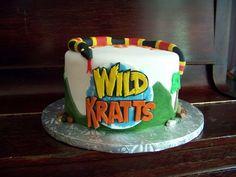 Wild Kratts Cake
