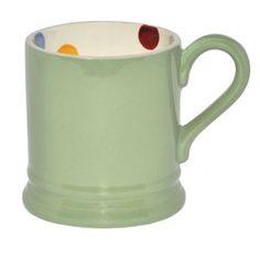 emma bridgewater green mug