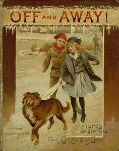 Vintage Children's book -   Off and Away