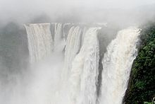 Jog Falls are the highest plunge waterfalls in India, formed by Sharavathi River.