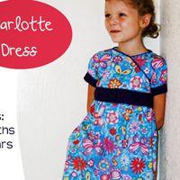 Charlotte Dress 3m-8yr E-Pattern