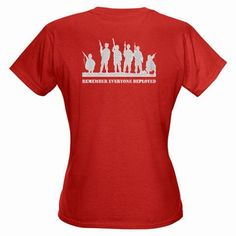 RED Fridays Women's Red T-Shirt by HH6Designs
