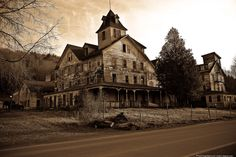 Haunted Places In Upstate NY | ... hotel. The image was taken upstate New York, around Hunter Mountain