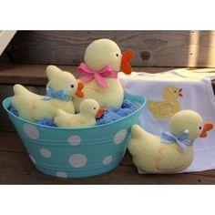 "In The Hoop :: Softie Toys :: Duckie Softies - Embroidery Garden   Unique ""in the hoop"" machine embroidery design files"