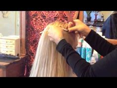 Video Tutorial on how to do these Easy Hair Extensions, Sherri Jessee, Step-by-step how to, blonde, curls, Beauty Launchpad Magazine