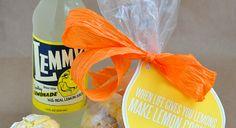 When life gives you lemons...make lemon cookies! + Printable www.thirtyhandmadedays.com