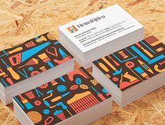 Swedish Handicraft Societies Business Card #branding #visualidentity #logodesign #corporateidentity #stationery