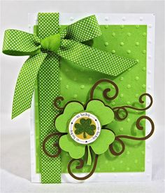 Happy St. Patrick's Day! : Core'dinations ColorCore Cardstock® | Scrapbook Cardstock Paper, Projects, Tips, Techniques and More!