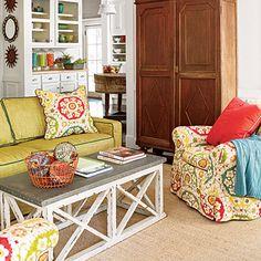 Bright living room f