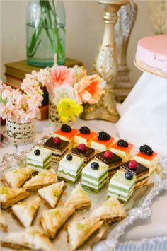 Delicious wedding goodies